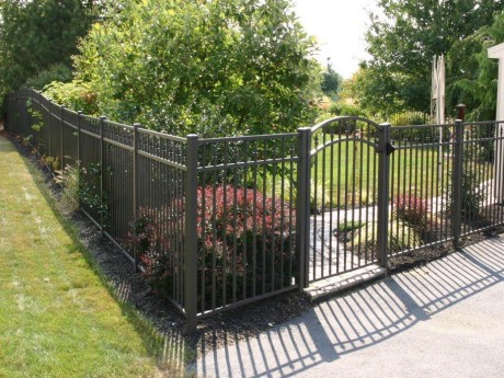 2254 Aluminum With Arch Gate