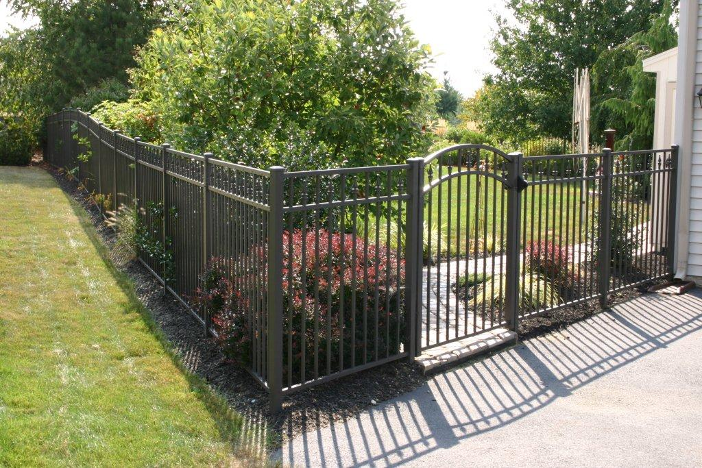2254 Aluminum With Arch Gate Dutchwaydutchway
