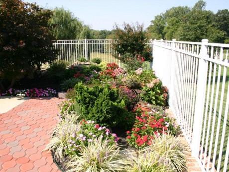 Garden Perimeter Fencing