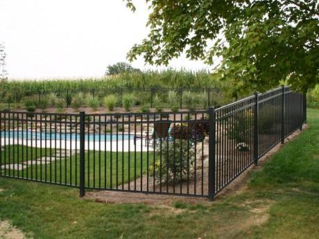 2354 Pool Code Aluminum Fence