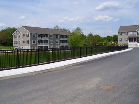Sidewalk Fence
