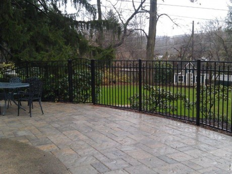 Patio Railing and Gate