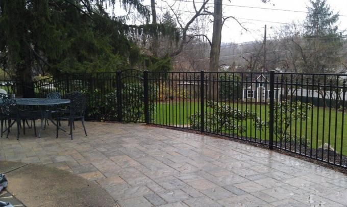 2254 Aluminum Fence
