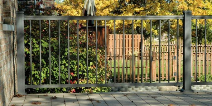 Upgrade Your Chain Link Fence With A Beautiful Aluminum Fence.