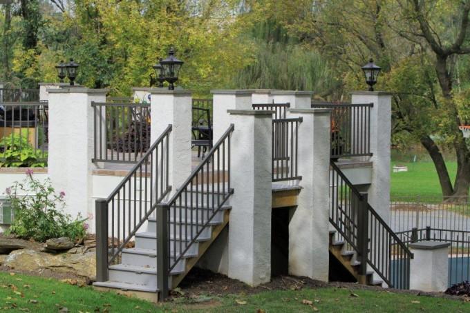 Aluminum Railing-Bronze