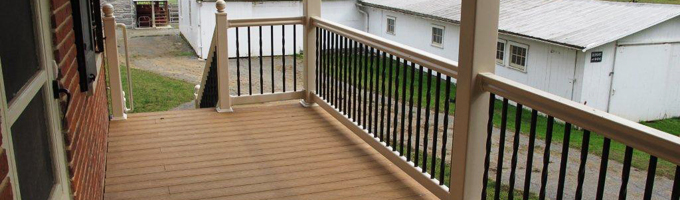 Improve Your Outside Oasis with PVC and Composite Decking from Dutch Way Fencing!