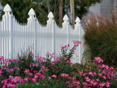 White Picket Fence – Detail
