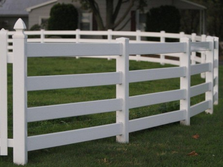 4 Rail Ranch Fence