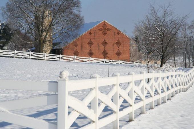 4 Rail Crossbuck Fence