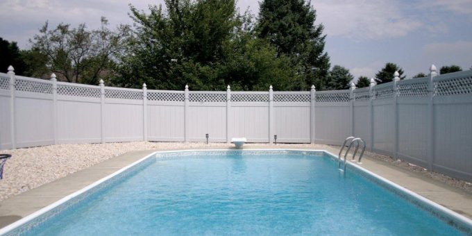 A Privacy Fence Keeps Nosy Neighbors At Bay.