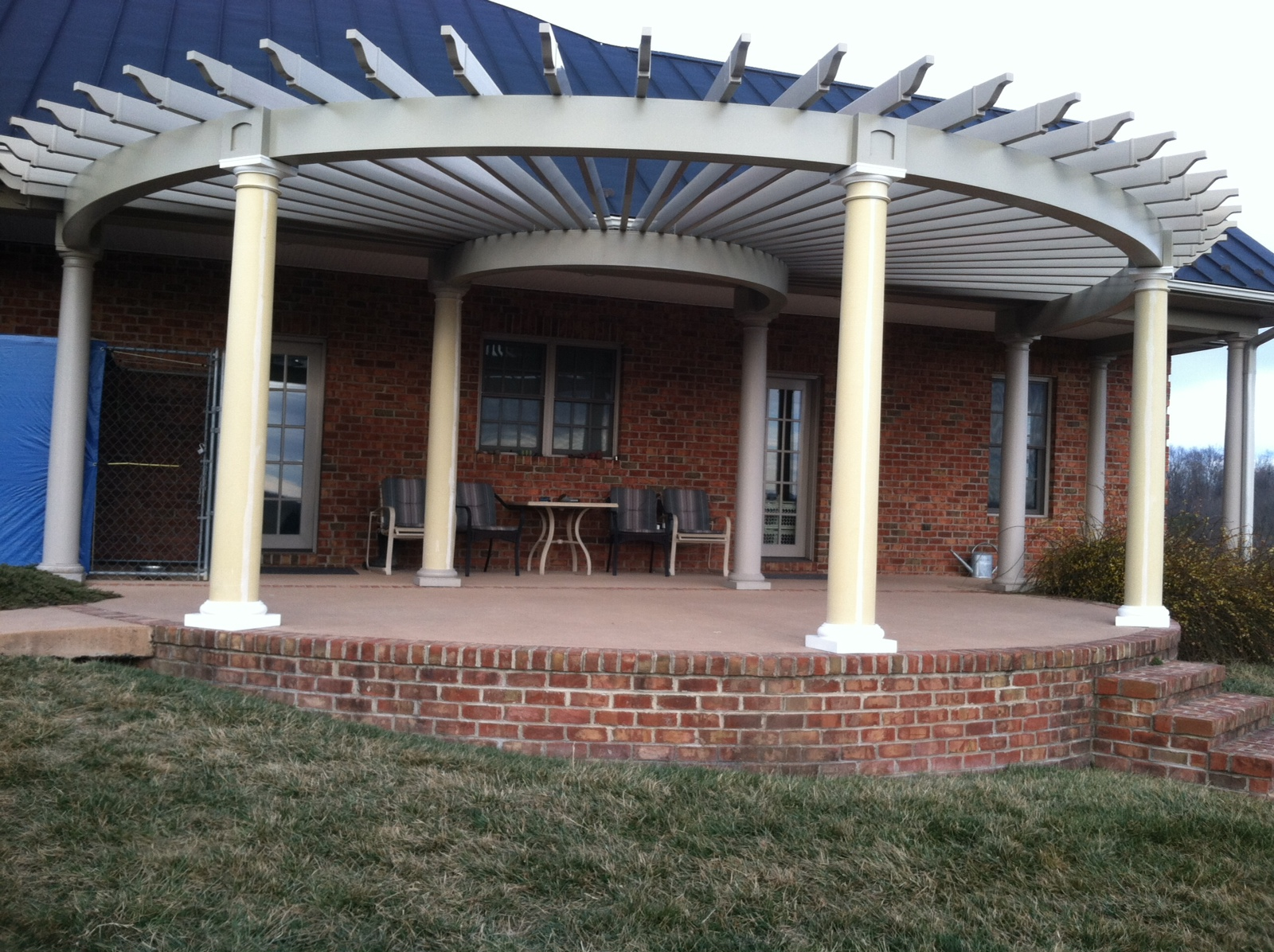 Custom pergola dutchwaydutchway for House plans with columns and porches