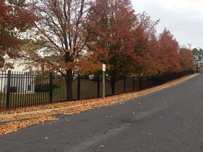 4172 Aluminum Fence